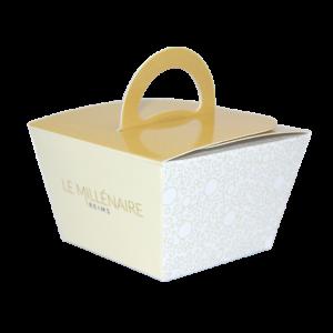 Boîte dessert à emporter personnalisée