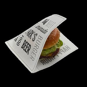 Sachet burger personnalisé