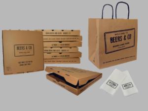 emballages pizzeria