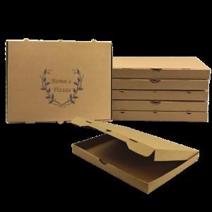 boîte pizza rectangulaire